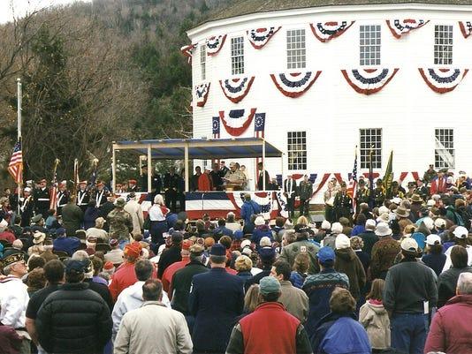 2. Memorial Program, November 6, 1999 Veterans Day Observance