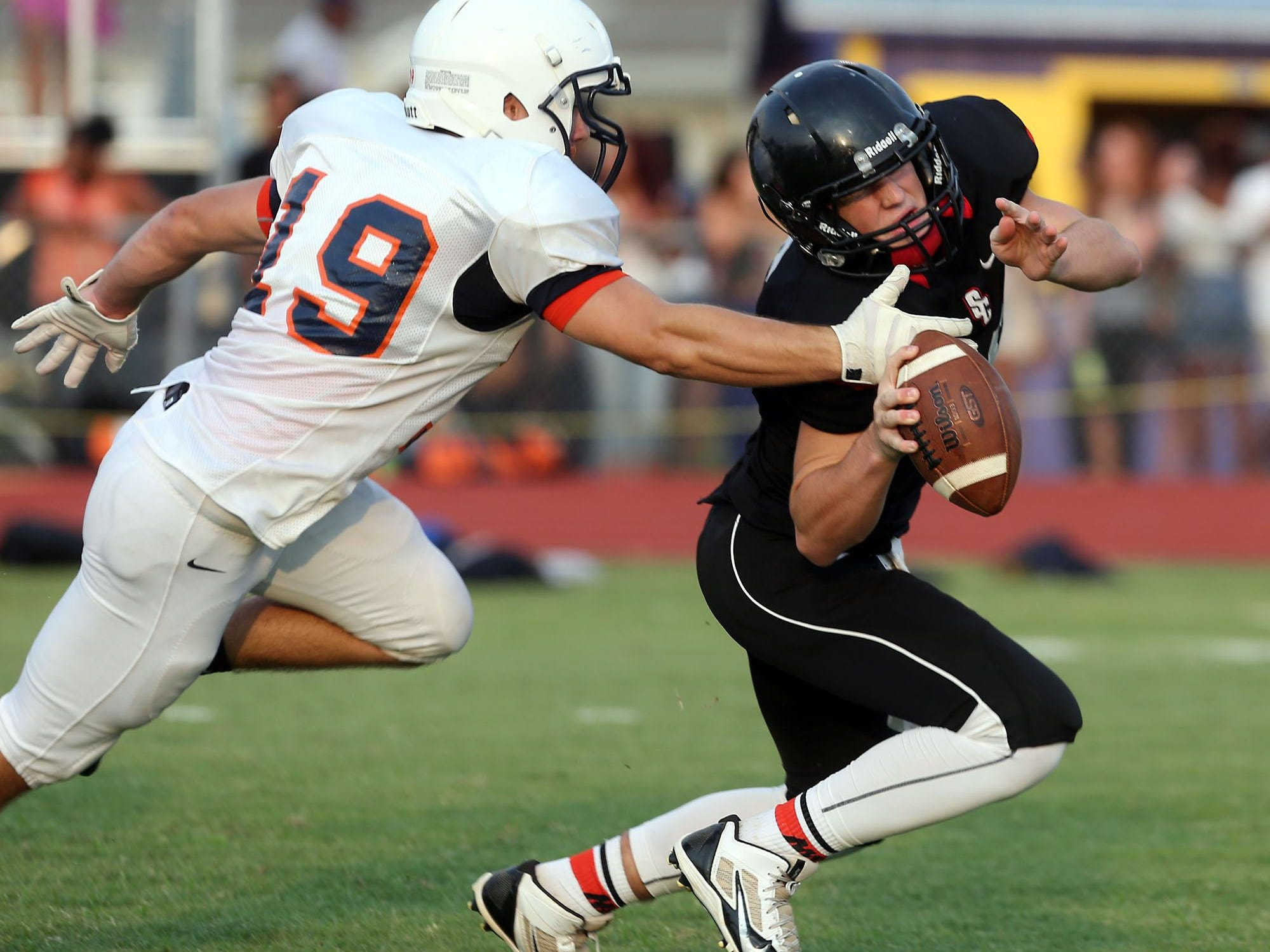 Chris Dye will be the favorite to start at quarterback for Stewarts Creek in 2015.