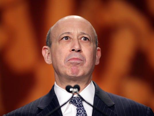 Goldman Sachs CEO