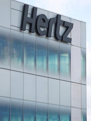 The sign on the Hertz Global Headquarters on Williams Road and US 41 in Estero on Tuesday, June 23, 2015.