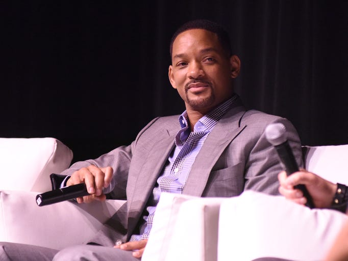 PALM SPRINGS, CA - JANUARY 03:  Actor Will Smith speaks