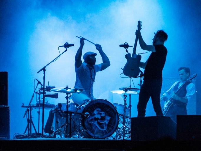 Jack White performs during Music Midtown 2014 at Piedmont