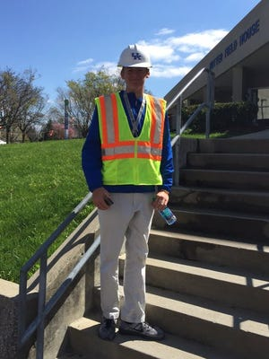 During a recent visit to UK, QB commit Mac Jones toured the program's new practice facility construction site.
