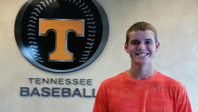 Oakland junior Jacob Pennington has committed to Tennessee to play baseball.
