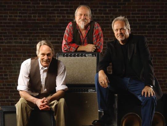 "Steve Cash, Michael ""Supe"" Granda and John Dillon are the three founding members of the Ozark Mountain Daredevils."