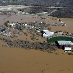 Lunken levee holding but areas behind it paying more for flood insurance