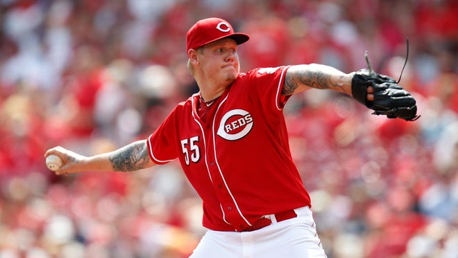 Good sign for the Reds: Early return of Mat Latos.