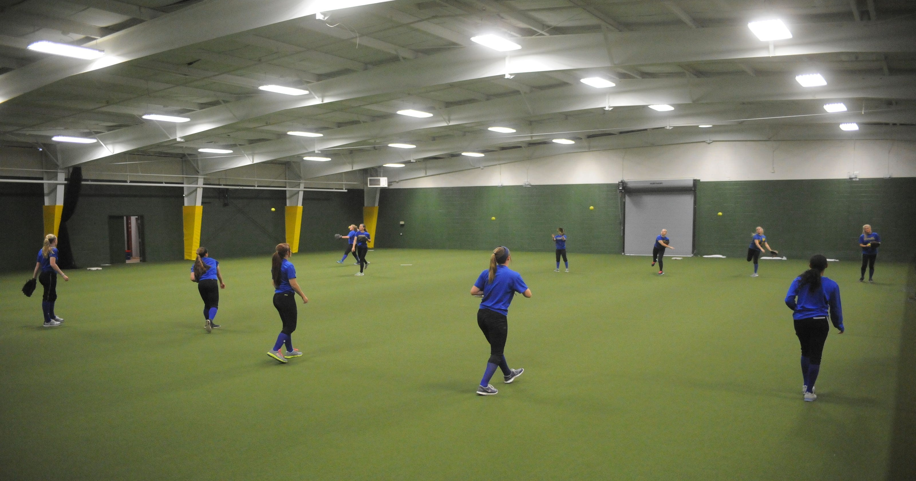 Indoor Facility Is New Launching Pad For The Bombers
