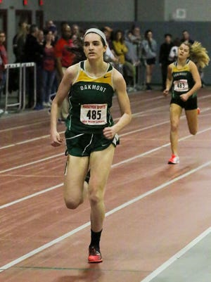 Oakmont Regional senior Laura McBride will graduate as the owner of three indoor track records and one outdoor track record. McBride, who also ran cross country for the Spartans, will run track at Embry-Riddle Aeronautical University next year.