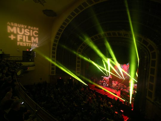 Gov't Mule closes out the Asbury Park Music + Film Festival with a show at Paramount Theatre in Asbury Park, NJ Sunday April 29, 2018. Tangiers Blues Band opens the show.  #APMFF