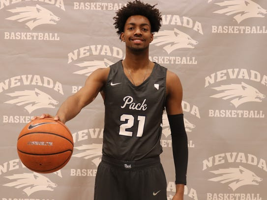 Jordan Brown will be a freshman for the Nevada basketball