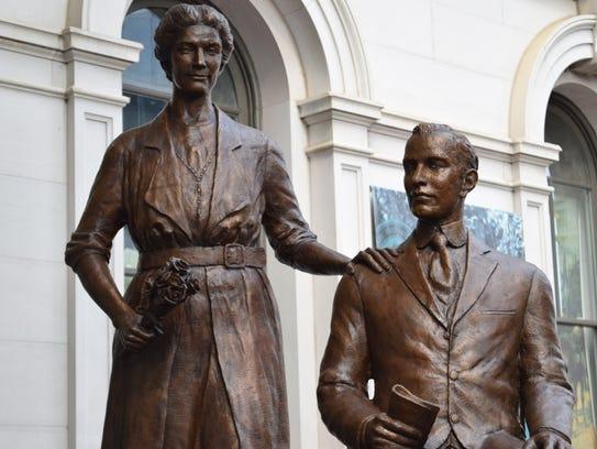 Nashville sculptor Alan LeQuire, created this memorial