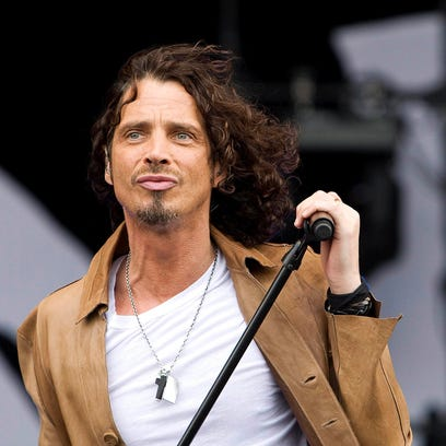 Musician Chris Cornell, known from the rock groups
