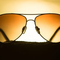 Most airplanes have sunshades, but pilots can also wear sunglasses to help reduce glare.