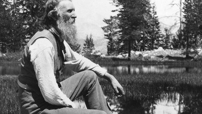 John Muir, who grew up in Wisconsin, was an influential conservationist, writer, and founder of the Sierra Club.