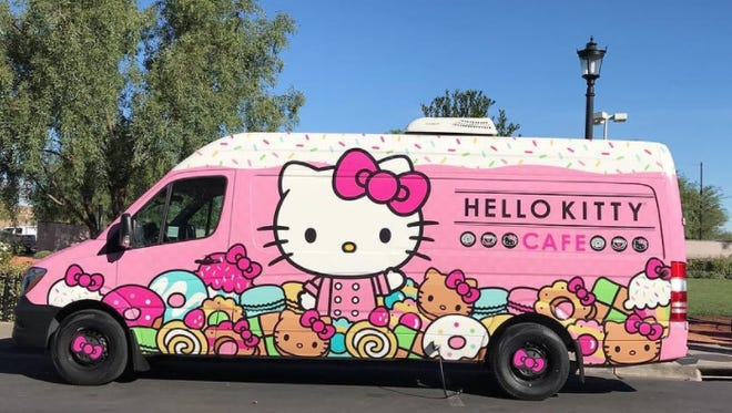The Hello Kitty Cafe Truck returns to the Valley, this time to Gilbert on Feb. 24.