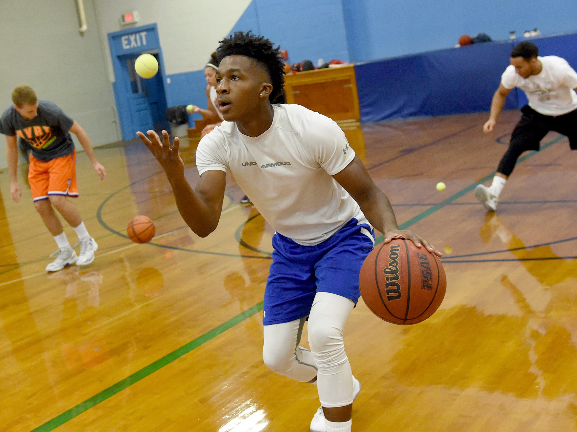 The structure and support offered by basketball teams and coaches helped Montrel Morgan navigate his way to a successful academic and athletic career in York. He is open to a basketball career after college, but if that doesn't happen, he said he'll join the Air Force.