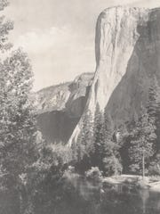 El Capitan, Yosemite Valley, about 1925.  Photograph