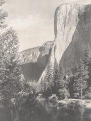 El Capitan, Yosemite Valley, about 1925.  Photograph