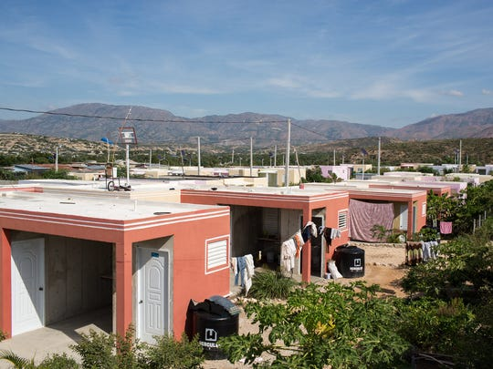 Haut Damier is a village built by USAID for earthquake victims outside of Port-au-Prince. Residents appreciate their new homes, but  they say there are no jobs and few services in the area.