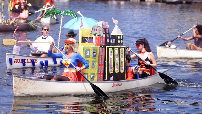 The 40th and final Great Dock Canoe Race is May 14 in Naples.