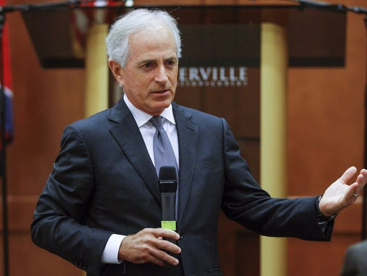 AP SENATE CORKER UNPLUGGED A FILE USA TN