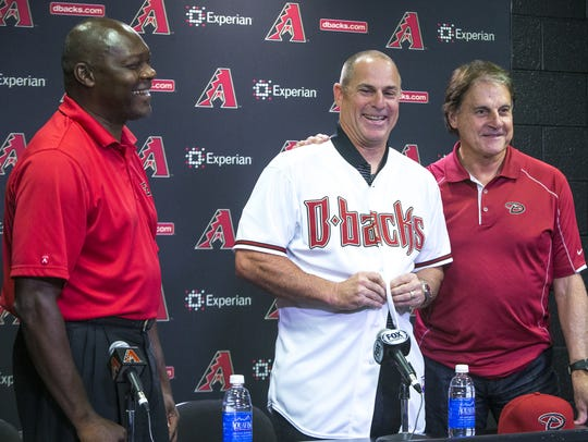 The Diamondbacks welcomed Dave Stewart, Chip Hale and