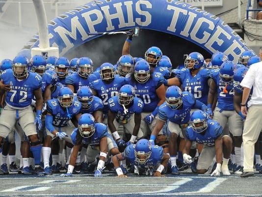 NCAA Football: Kansas at Memphis