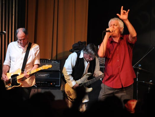 "A packed house saw Guided By Voices Thursday night at the Milton Theatre. The band was celebrating the release of Dogfish Head's Beer Thousand, named for the band's album ""Bee Thousand."""