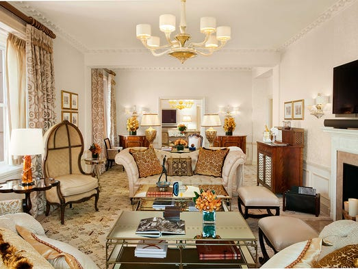 Forbes travel guide names five star properties for The pierre hotel in new york city