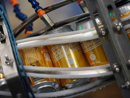 Goodwood Brewing is canning it's own beer now with