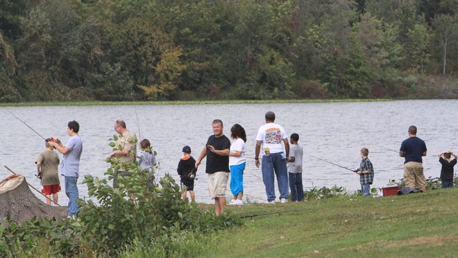 During designated free fishing days, New York residents and non-residents are permitted to fish for free without a fishing license.