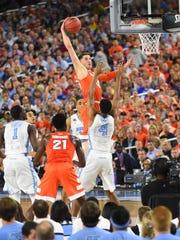 Apr 2, 2016; Houston, TX, USA; Syracuse Orange forward