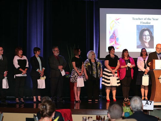 The 2016 Springfield Teacher of the Year candidates