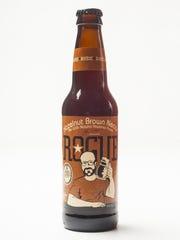 Rogue Hazelnut Brown Nectar Ale from Newport, Oregon,