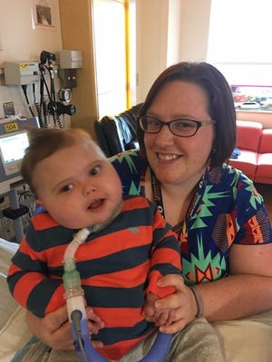 Anderson Moreno, pictured with his mother, Alicia, received a heart transplant on Nov. 5.