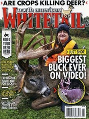 North American Whitetail magazine recently featured the harvest of the large whitetail deer, calling it the biggest buck ever on video.