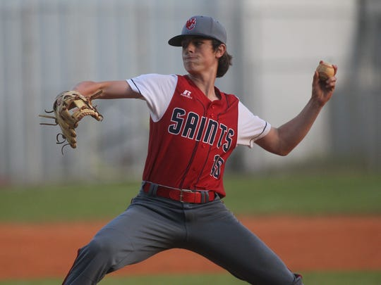 Wakulla Christian left-hander Hayden Carlton will be