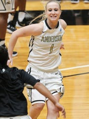 Anderson senior guard and Walhalla product Heather