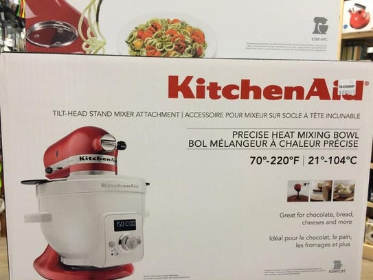 The new precise heat mixing bowl KitchenAid attachment