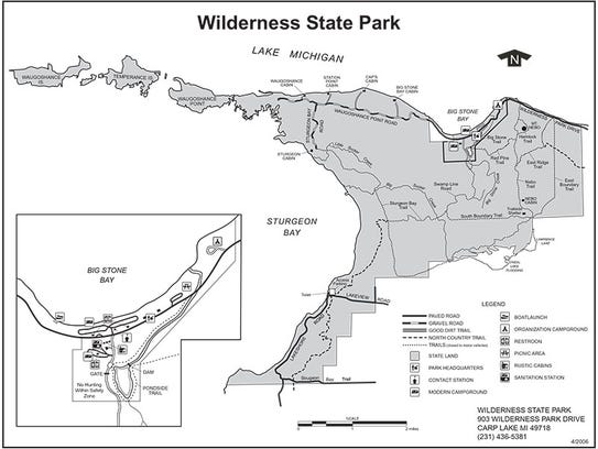 State39s Newest Campground Offers Lake Michigan Views