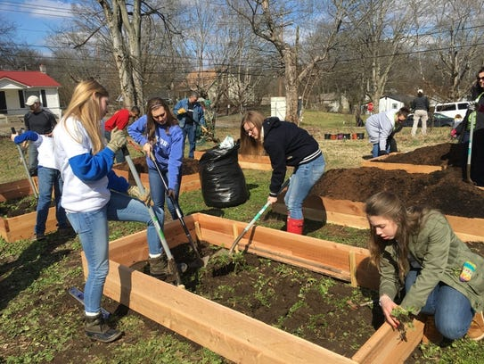 Clarksville Academy Challenge-Based Learning students