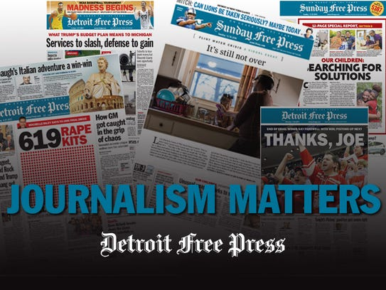 Go to Freep.com/subscribe to support the newsgathering