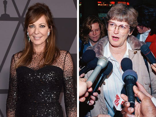 Allison Janney, left, and  LaVona Golden