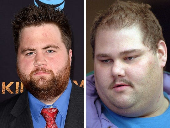 Paul Walter Hauser, left, and Shawn Eckardt