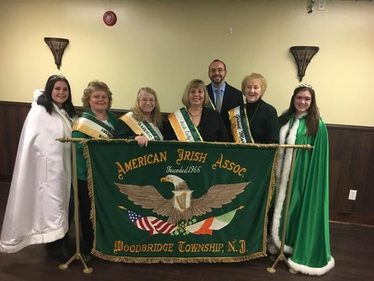 Honorees for the St. Patrick's Day Parade on Sunday,