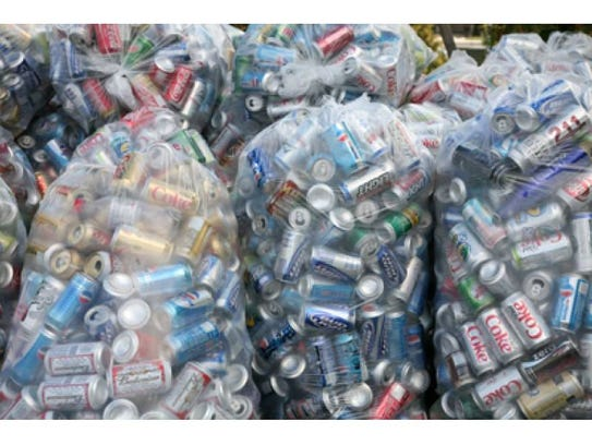 The can and bottle drive is set for Feb. 10.