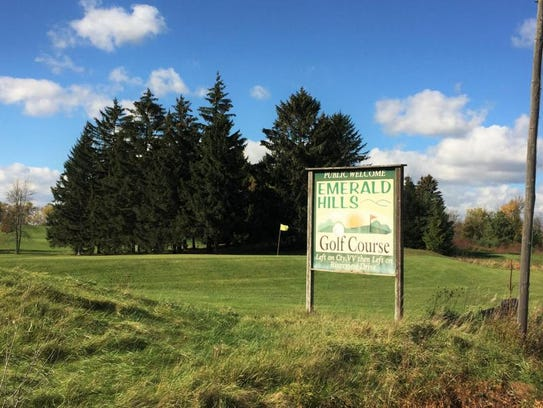 Emerald Hills Golf Course in Two Rivers.