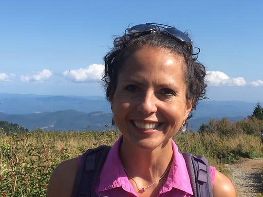 Karen Chávez, Citizen-Times outdoors writer.