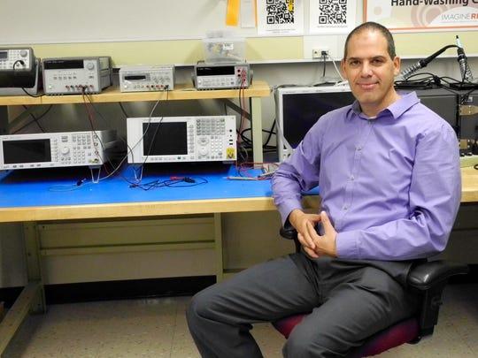 Gill Tsouri,  associate professor of electrical engineering